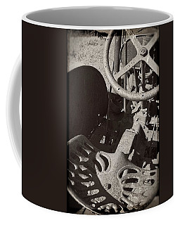 Coffee Mug featuring the photograph Rusted Tractor by Michelle Calkins