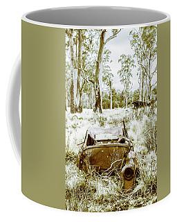 Rustic Australian Car Landscape Coffee Mug