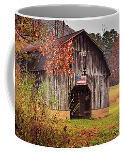 Rustic Barn In Autumn Coffee Mug