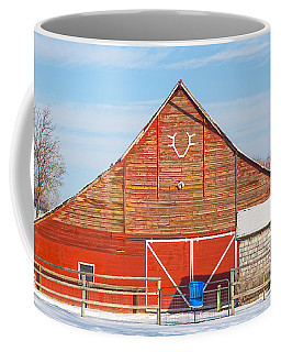 Rustic Barn In Idaho Coffee Mug