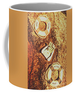 Rustic Beach Decorations  Coffee Mug