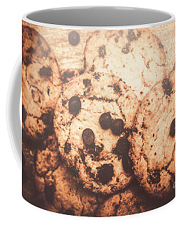 Rustic Chocolate Chip Cookie Snack Coffee Mug