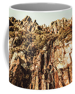 Rustic Cliff Spring Coffee Mug