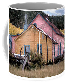 Rustic Colorado Coffee Mug by Jim Hill