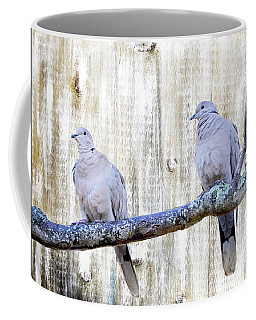 Rustic Dove Art Coffee Mug