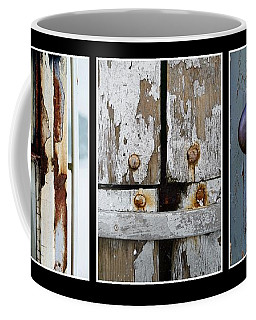 Coffee Mug featuring the photograph Rustic Elements by Patricia Strand