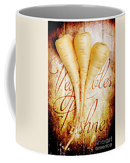 Rustic Farm Kitchen Tin Sign Coffee Mug