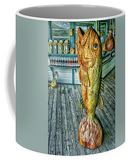 Rustic Fish Coffee Mug