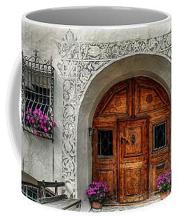 Rustic Front Door Coffee Mug