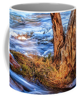 Rustic Island, Noble Falls Coffee Mug by Dave Catley