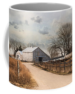 Coffee Mug featuring the photograph Rustic Lane by Robin-Lee Vieira