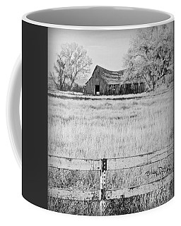 Coffee Mug featuring the photograph Rustic Nevada Barn by Bobbee Rickard