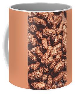 Rustic Nuts Background  Coffee Mug