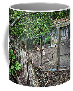 Coffee Mug featuring the photograph Rustic Old House In Galicia by Eduardo Jose Accorinti