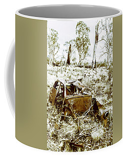 Rustic Rural Decay Coffee Mug