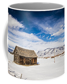 Rustic Shack Coffee Mug by Sean Allen