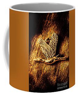 Rustic Stork Pendant Coffee Mug