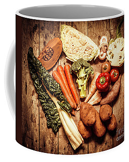 Rustic Style Country Vegetables Coffee Mug