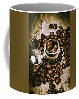 Rustic Teapot Art Coffee Mug
