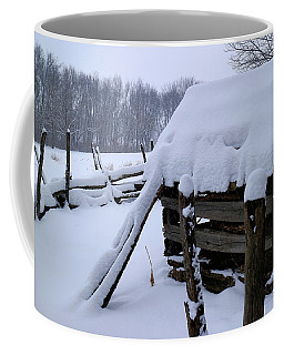 Rustic Winter Setting Coffee Mug