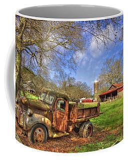 Rusty 1947 Dodge Dump Truck Coffee Mug