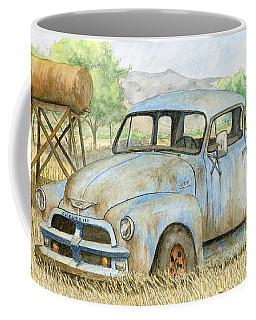 Rusty Blue Chevy Coffee Mug
