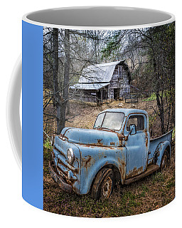 Rusty Blue Dodge Coffee Mug