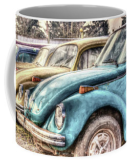 Coffee Mug featuring the photograph Rusty Bugs by Jean OKeeffe Macro Abundance Art