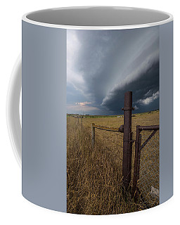 Coffee Mug featuring the photograph Rusty Cage  by Aaron J Groen