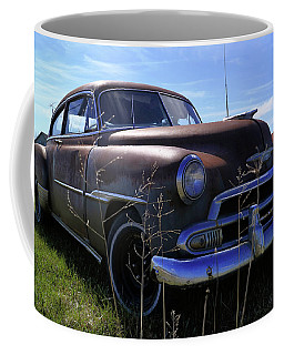 Rusty Chevy Fleetline Coffee Mug
