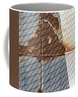 Rusty Cross Coffee Mug
