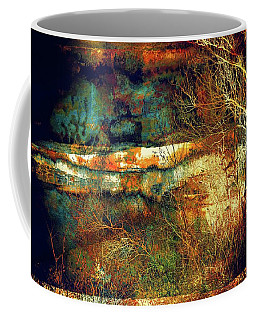 Coffee Mug featuring the photograph Rusty Landscape by Lilia D
