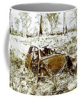 Rusty Old Holden Car Wreck  Coffee Mug