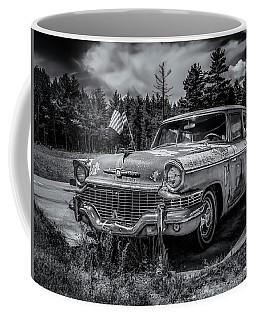 Rusty Old Studebaker Coffee Mug by Ken Morris