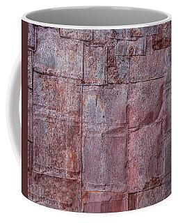 Rusty Patchwork Coffee Mug