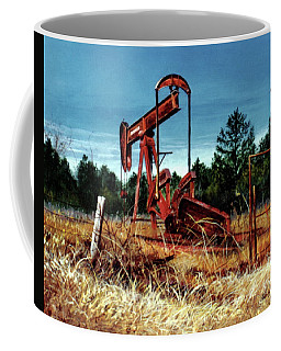 Rusty Pump Jack Coffee Mug