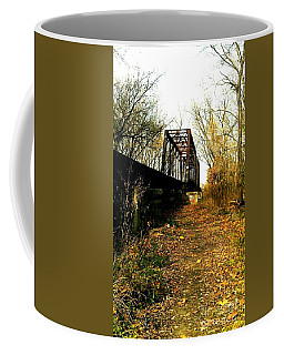 Rusty Railroad Trestle Bridge Coffee Mug