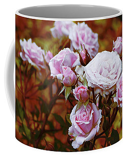 Coffee Mug featuring the photograph Rusty Romance In Pink by Ivana Westin