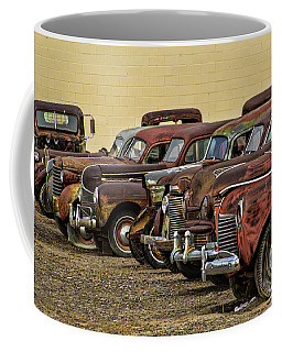 Rusty Row Coffee Mug