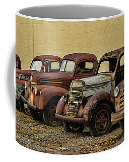 Rusty Trucks Coffee Mug