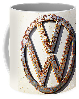 Vintage Vw Sign Coffee Mug