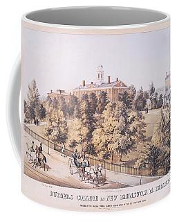 Rutgers College In New Brunswick New Jersey 1849 Coffee Mug