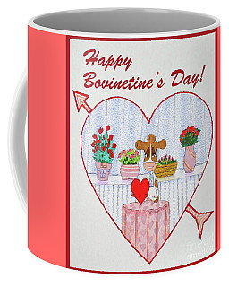 Ruthie-moo Happy Bovinetinesday Coffee Mug