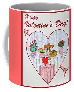Ruthie-moo Happy Valentine's Day Coffee Mug