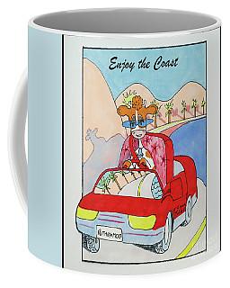 Ruthiemoo Enjoy The Coast Coffee Mug
