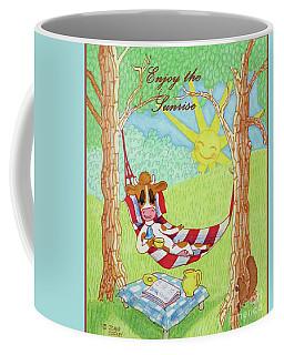 Ruthiemoo Enjoy The Sunrise Coffee Mug