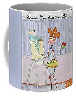 Ruthiemoo Explore Your Creative Side Coffee Mug