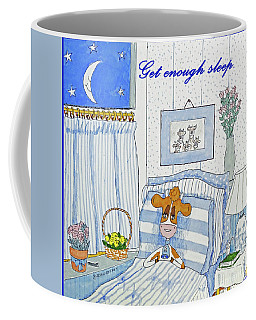Ruthiemoo  Get Enough Sleep Coffee Mug