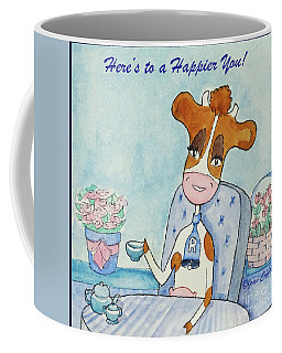 Ruthiemoo Here's To A Happier You Coffee Mug