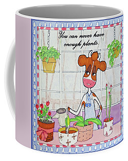 Ruthiemoo You Can Never Have Enough Plants Coffee Mug
